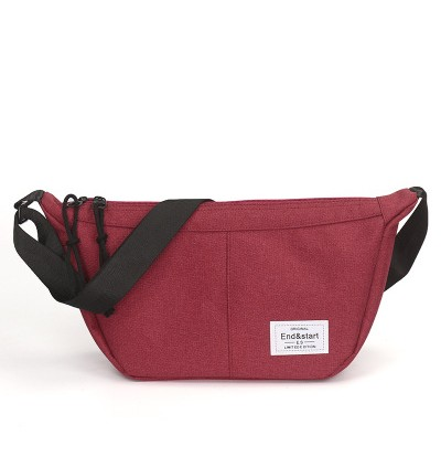 JAPAN DESIGN CANVAS BANANA SLING BAG