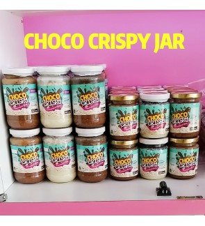CHOCO CRISPY JAR [HALAL]
