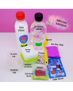 SLIME KIT SET & ACCESSORIES FOR SLIME MAKING