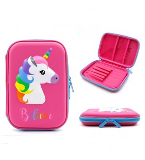 UNICORN HARDCOVER PENCIL CASE EVA PENCIL BOX