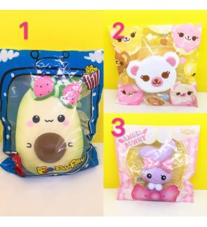 Licensed Scented Squishy Collection 01