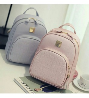 Korean Style Bagpack Backpack Fashion School bag Lady Bag Pack