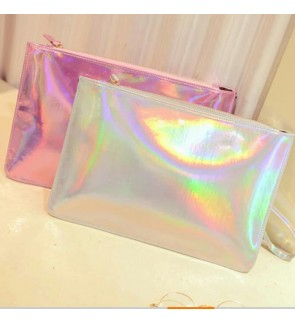 LARGE LASER POUCH BAG HANDBAG