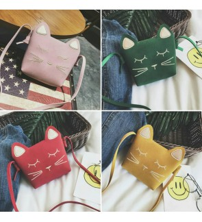 KIDS or woman Cat Kitten Sling bag