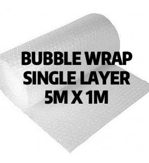 Bubble Wrap 5m x 1m x 10cm