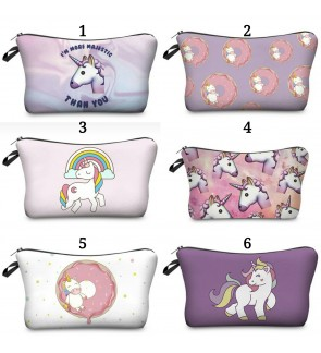 UNICORN MAKE UP POUCH PENCIL CASE PENCIL BOX