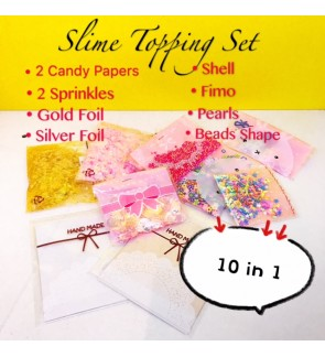 10 IN 1 SUPER BUDGET SLIME TOPPING
