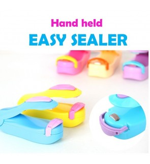 Handheld Mini Portable Easy Sealer for Packaging Food Plastic Bag