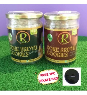Bone Broth Cookies Flavour Kurma & Apricot By Rush Babyfood