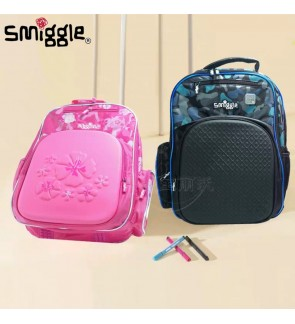 Smiggle Backpack Large Size with Top Cover