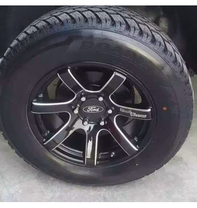 2 IN 1 FORD RANGER CENTRE CONE + CENTRE CAP [1set = 4pcs]