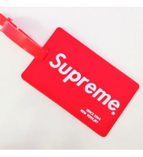 Supreme Luggage Tag