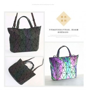 Large Geometry bag Geometric bag woman handbag shoulder bag