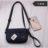 Y) JAPAN DESIGN PTR SMALL SLING BAG + FREE KEYHOLDER