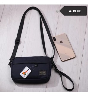 Y) JAPAN DESIGN PORTER SMALL SLING BAG + FREE KEYHOLDER
