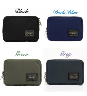 80AL Japan Design Waterproof Ptr Mini Wallet with Rear Coin Compartment
