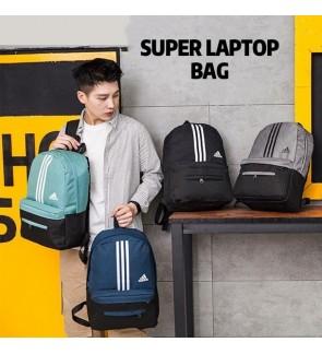 O) Large Volume Adi Super Laptop Bag with front Two front pocket