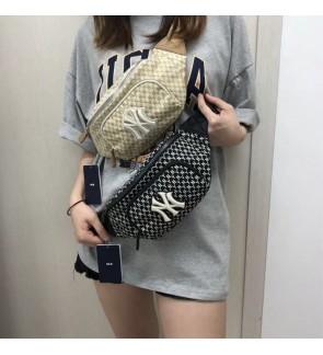 MY READY STOCK High Quality MLB NY monogram unisex chest bag waist bag