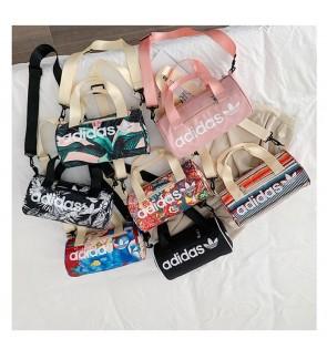 S) Hot Item 2020!! Adi bag Floral waterproof Round bag Tube bag Sling Bag