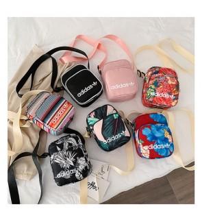 T) Hot Item 2020 Adi bag floral waterproof crossbody bag Sling Bag