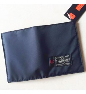 AR) Japan Design Clean & Simple Ptr Waterproof Velcro Wallet with Picture , cash , credit card slot