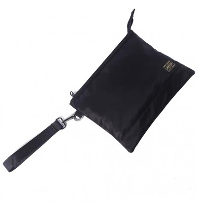 AT) Japan Design Ptr Waterproof Large Volume Simple Design Clutch Pouch Handcarry Bag + WRIST Holder