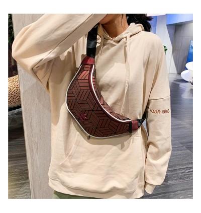 W) ADI WATERPROOF 3D CHEST BAG WAIST BAG CROSSBODY BAG