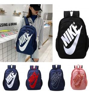 READY STOCK D) Nk Large Logo Fashion Backpack School Bag Laptop Bag