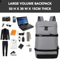 J) ADI Large Volume Backpack Outdoor Backpack Fashion Backpack School Bag Laptop Bag