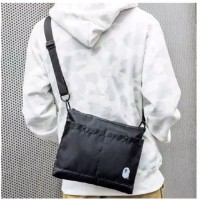 C) Japan design waterproof Bape Magazine sling bag