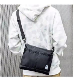 C) Japan design waterproof Bape Magazine sling bag
