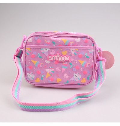 Smiggle High Quality Lunch Sling Bag with insulated material for cold/hot Preserve