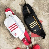 I) 2019 new design WATERPROOF PU LEATHER Adidas bag waist Bag chest Bag