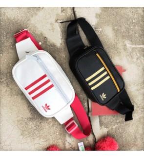 I) 2019 new design WATERPROOF PU LEATHER Adidas bag waist Bag chest Bag
