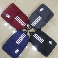 Z) STOCK CLEARANCE READY STOCK Adi bag FIL LARGE VOLUME BACKPACK SCHOOLBAG