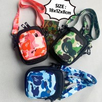 K) High Quality Bape Sling bag Crossbody bag
