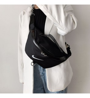 High Quality Mix Bags NK ADI Large Volume waist Bag/ Chest Bag with Metal Buckles