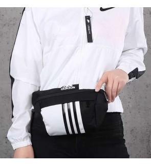 AC) Large Volume 3 stripes Adi Waist Bag Chest Bag Crossbody Bag