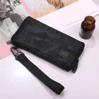 [WITH FREE KEY HOLDER] BJ) JAPAN DESIGN LARGE VOLUME WATERPROOF PTR LONG WALLET WITH CREDIT CARD SLOTS AND COIN COMPARTMENT