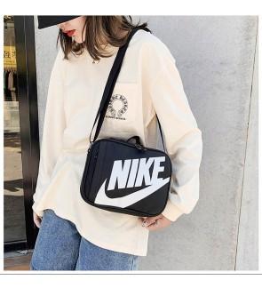 G) Waterproof NK PU leather LARGE WORDS Sling Bag Crossbody Bag