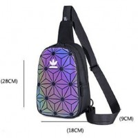 AF) High Quality Geomatry Adi Waterproof Chest Bag Crossbody Bag