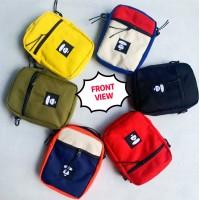 M) High Quality TWO SIDED Bape Sling bag Crossbody bag